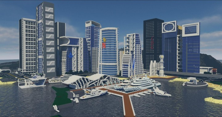 Большой современный город / Gentle City  [1.11.2] [1.10.2] [1.9.4] [1.7.10]