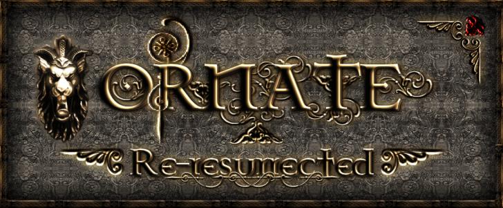 Ornate 5 Re-resurrected [1.11.2] [1.10.2] [1.7.10] (64x)
