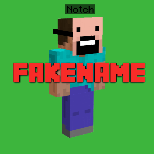 Fakename - поддельный ник [1.12.2] [1.11.2] [1.10.2]