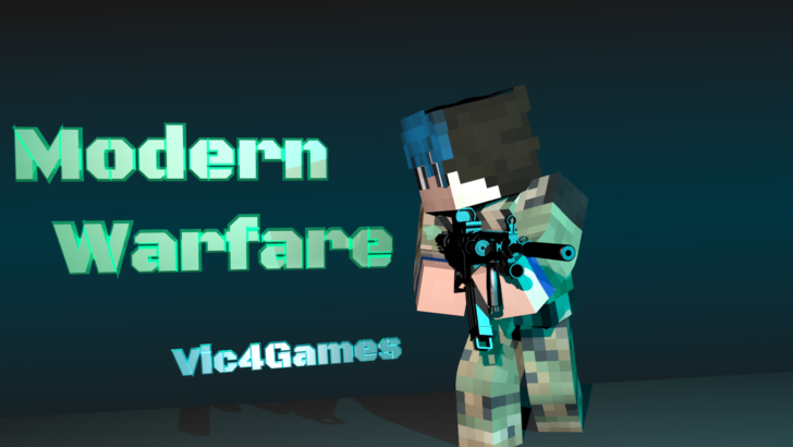 Vic's Modern Warfare (современное оружие) [1.12.2] [1.11.2] [1.10.2] [1.7.10]