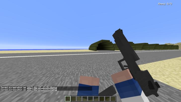 Vic's Modern Warfare (современное оружие) [1.12.2] [1.11.2] [1.10.2] [1.7.10]