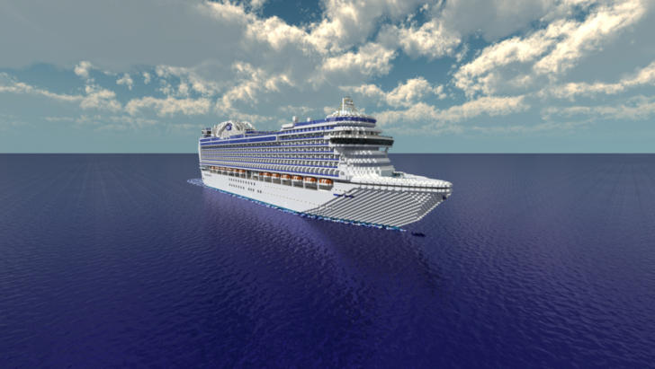 Круизный лайнер Crown Princess [1.11.2] [1.10.2] [1.9.4]