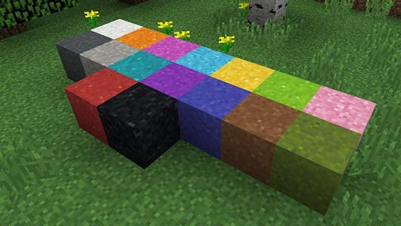 Цемент в Minecraft