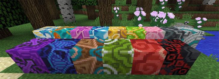 Глазурованная плитка в Майнкрафт
