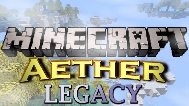 Aether Legacy - Рай [1.12.2] [1.11.2] [1.10.2] [1.9.4]