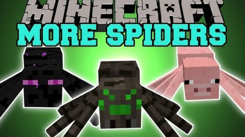 Much More Spiders [1.10.2] [1.8.9] [1.7.10]