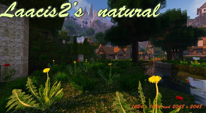 Laacis2's natural [1.14.4] [1.13.2] [1.12.2] (2048x, 1024x, 512x)