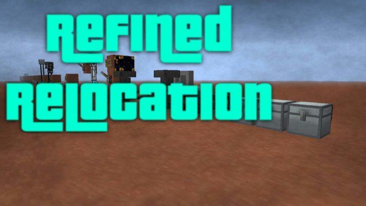Refined Relocation 2 - механизмы для сортировки предметов [1.14.4] [1.12.2] [1.11.2] [1.10.2]