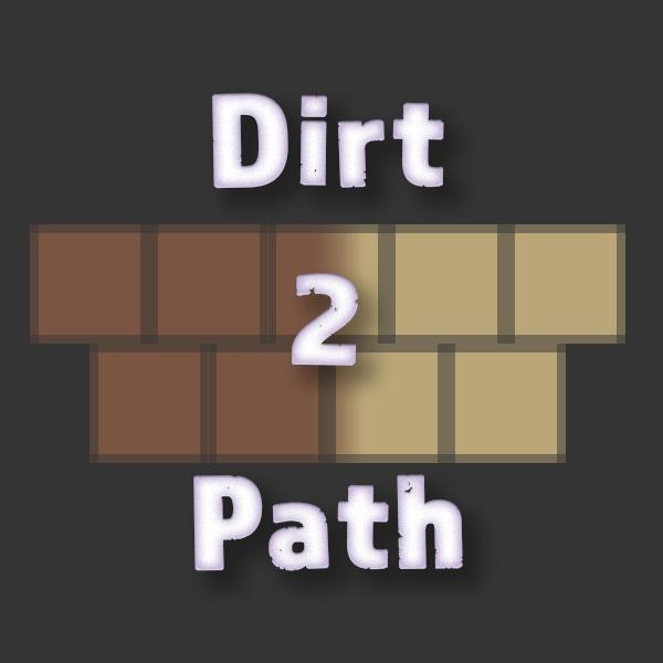 Dirt2Path [1.12.2] [1.11.2] [1.10.2]