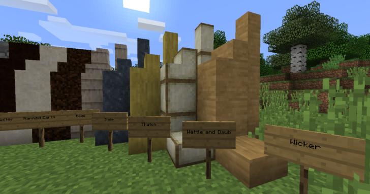 Earthworks - древние строительные блоки  [1.12.2] [1.11.2] [1.10.2]