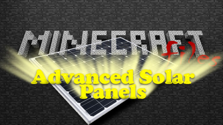 Advanced Solar Panels - солнечные панели [1.11.2] [1.10.2] [1.7.10]