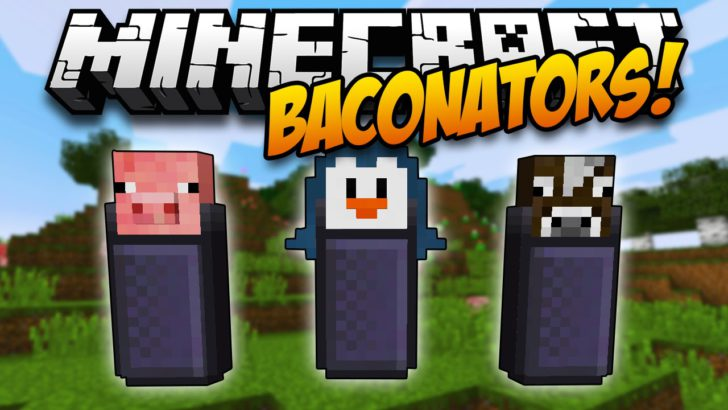 Baconators [1.11.2] [1.10.2] [1.7.10] (дозатор пищи)