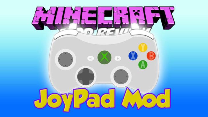 Joypad [1.11.2] [1.10.2] [1.9.4] [1.7.10] (геймпад, разделённый экран)