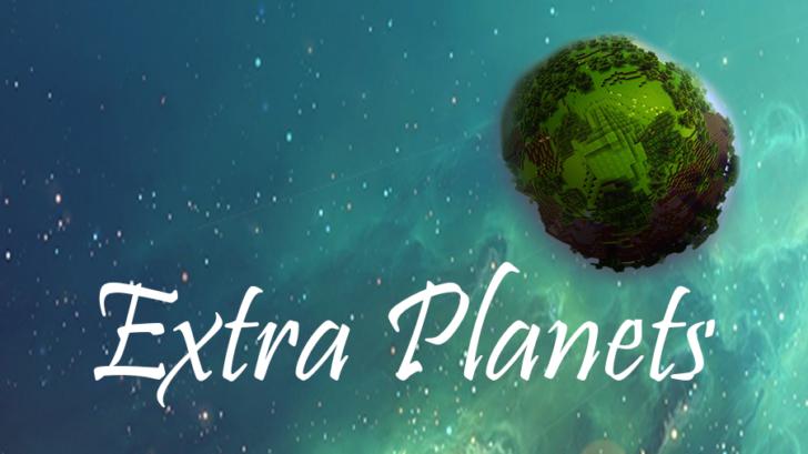 ExtraPlanets [1.10.2] [1.8.9] [1.7.10] (новые ракеты и планеты)