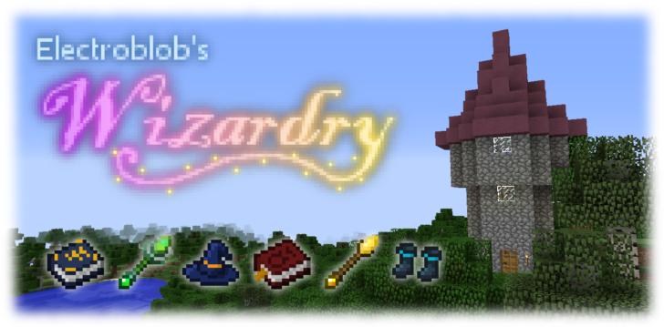 Electroblob's Wizardry - магия без заморочек [1.12.2] [1.11.2] [1.10.2] [1.7.10]