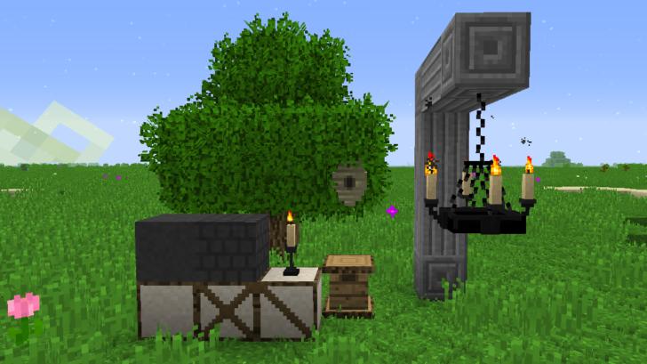 Rustic - блоки и мебель из средневековья [1.12.2] [1.11.2] [1.10.2]