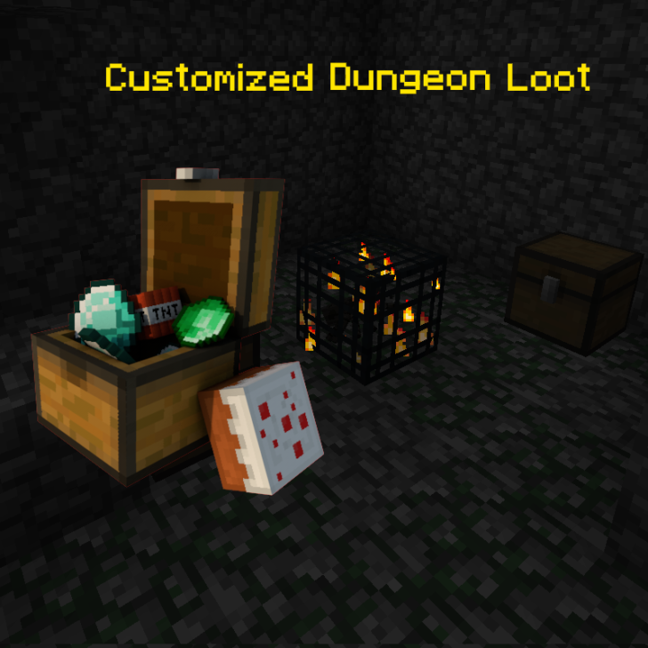 Customized Dungeon Loot [1.14.4] [1.12.2] [1.11.2] [1.10.2]