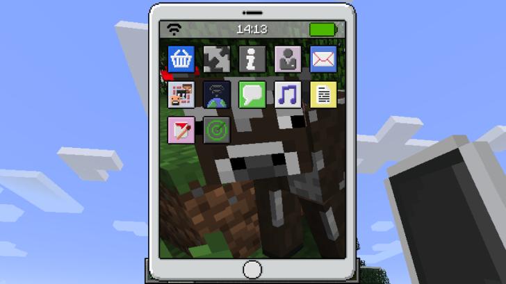 EyeMod [1.12.2] [1.11.2] [1.10.2] (реальный iPhone, iPod, iPad)