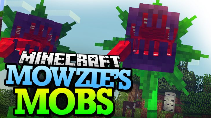 Mowzie's Mobs - плотоядные растения, туземцы и рыцари [1.12.2] [1.11.2] [1.10.2] [1.7.10]