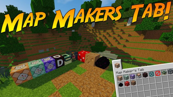 Map Maker's Tab [1.12.2] [1.11.2] [1.10.2]