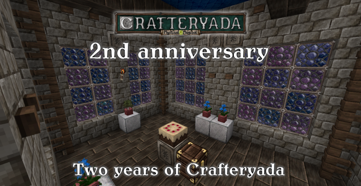 Crafteryada [1.12.2] [1.11.2] [1.10.2] [1.9.4] (32x)