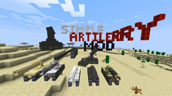 Customizable Artillery [1.10.2] [1.9.4] [1.8.9] [1.7.10]