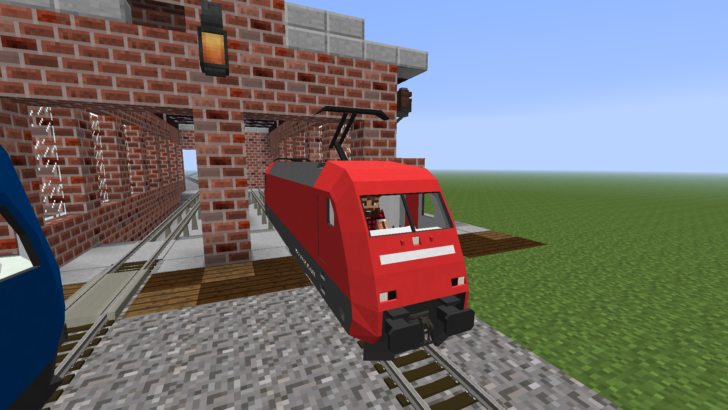 Zora no Densha [1.7.10] (поезда и железная дорога)