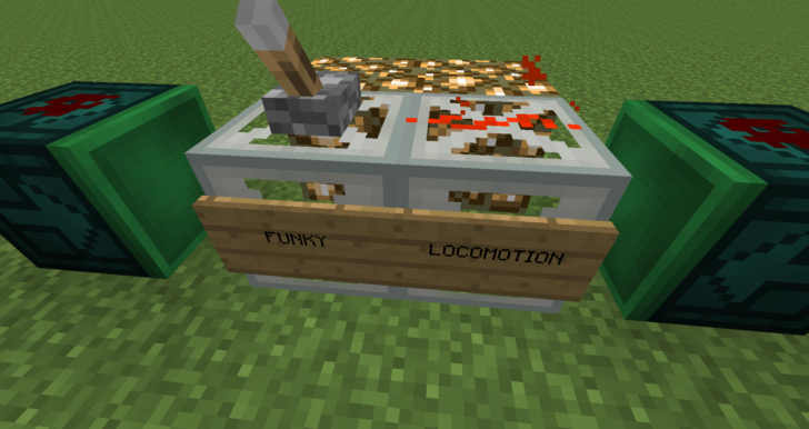 Funky Locomotion [1.12] [1.11.2] [1.10.2] [1.7.10] (улучшенный поршень)