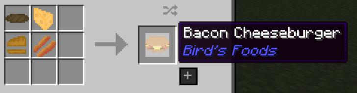 Bird's Foods [1.11.2] [1.10.2] [1.9.4]
