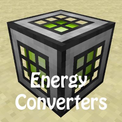 Energy Converters (конвертер энергии RF, IC2 EU и Tesla.) [1.12.1] [1.11.2] [1.10.2]