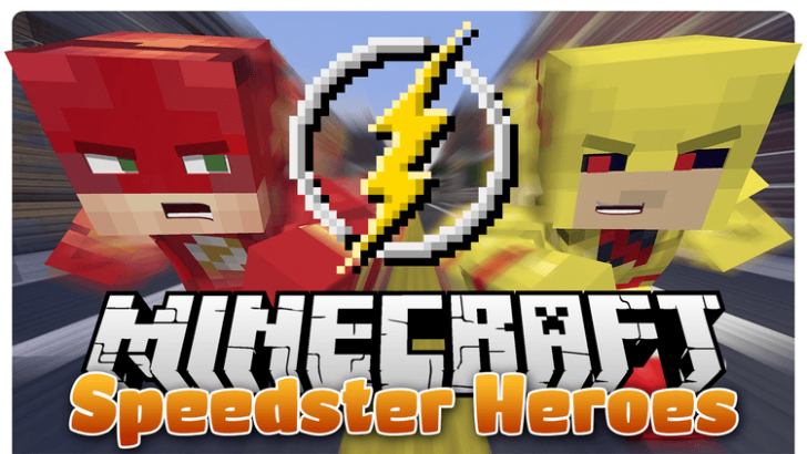 Speedster Heroes [1.12.2] [1.10.2] [1.8.9] (Флэш мод)