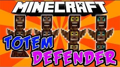 Totem Defender - защитные тотемы [1.12.2] [1.11.2] [1.10.2] [1.7.10]