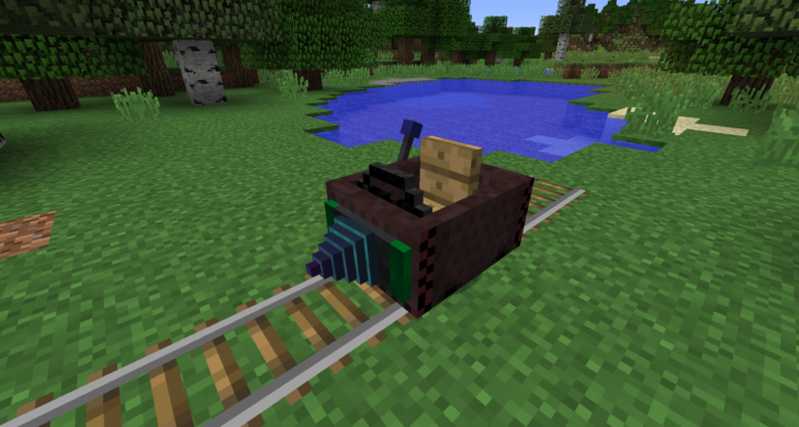 Steves Carts Reborn - полезные вагонетки [1.12.2] [1.11.2] [1.10.2] [1.7.10]