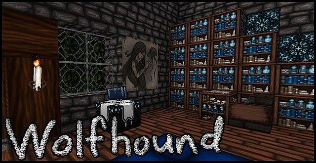 Wolfhound [1.13] [1.12.2] [1.11.2] [1.8.9] (64x)