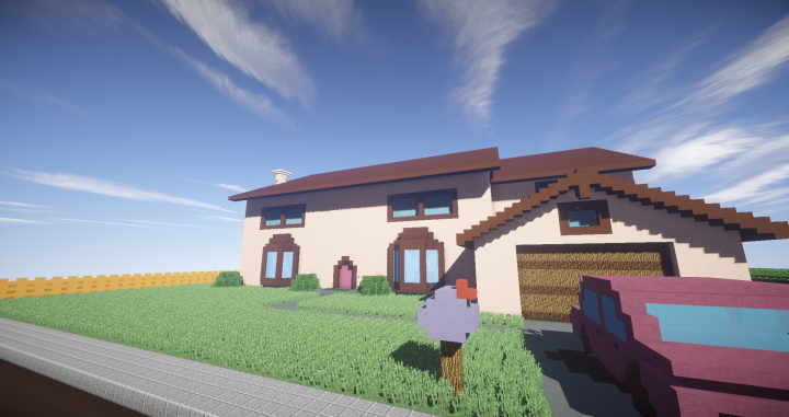 The Simpsons House [1.12.2] [1.11.2]