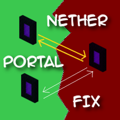 NetherPortalFix [1.12] [1.11.2] [1.10.2]