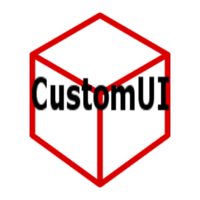 CustomUI [1.12] [1.11.2] [1.10.2]