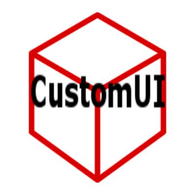 CustomUI [1.12] [1.11.2] [1.10.2]