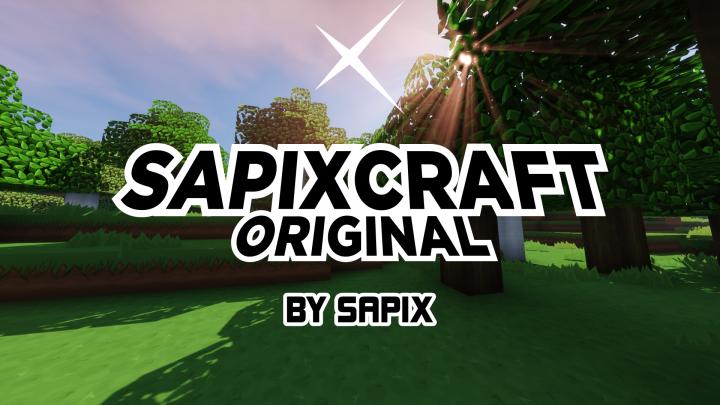 SapixCraft Original [1.14.3] [1.13.2] [1.12.2 - 1.7.10] (512x - 16x)