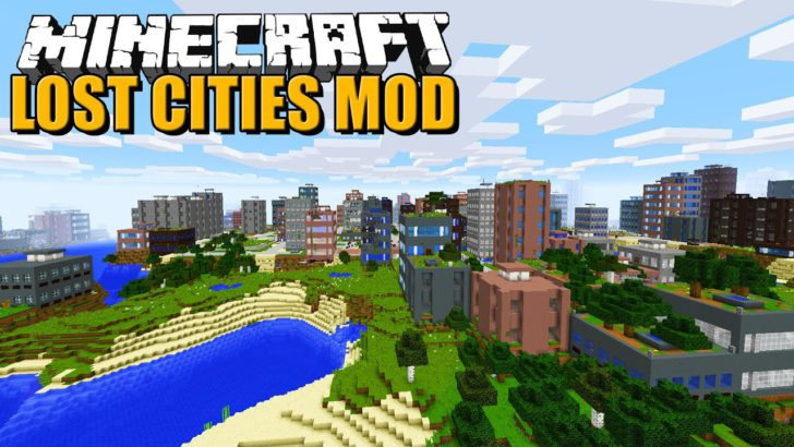 The Lost Cities [1.12.2] [1.11.2] [1.10.2]
