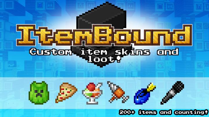 ItemBound [1.14.3] [1.13.2] [1.12.2] [16x] (более 500 уникальных предметов)