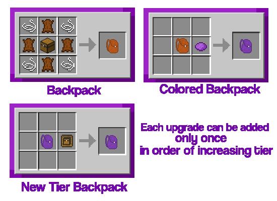 Improved Backpacks [1.12] [1.11.2] [1.10.2]