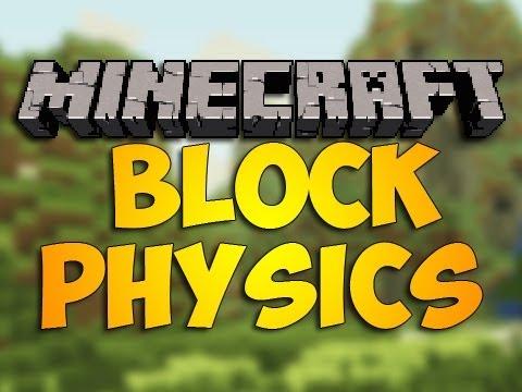 BlockPhysics (физика блоков) [1.7.10]