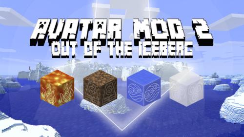 Avatar 2: Out of the Iceberg - магия четырех стихий [1.12.2] [1.11.2]