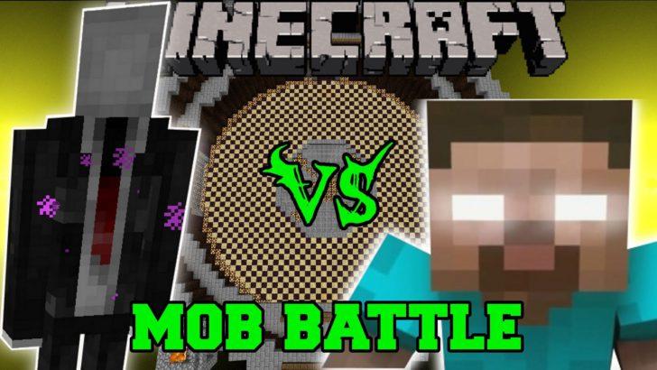 Mob Battle - сражение между мобами [1.12.2] [1.11.2] [1.10.2] [1.7.10]