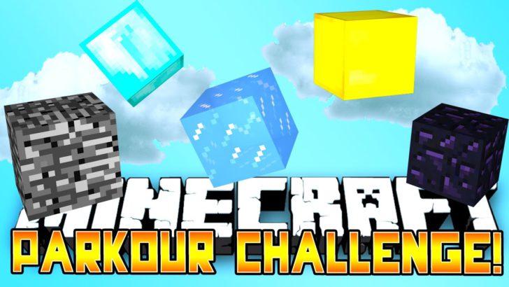 Parkour Challenge [1.12.2]