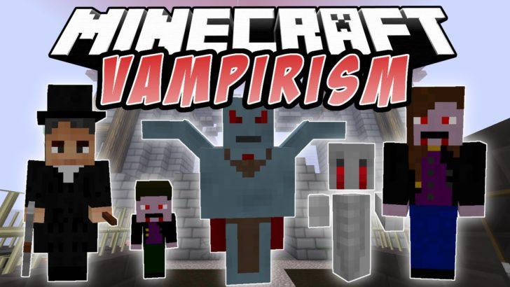 Vampirism [1.14.4] [1.12.2] [1.11.2] [1.7.10] (вампиры)