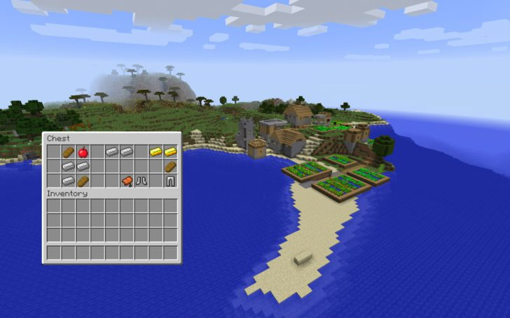 Сид с деревней на берегу океана [1.12.2] [1.11.2] [1.10.2] [1.8.9]