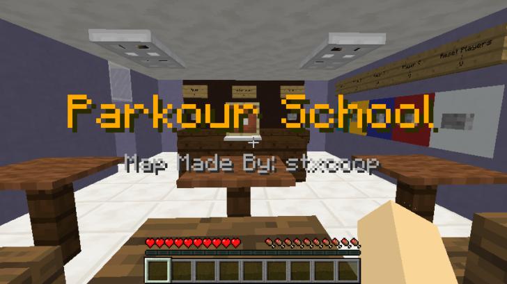 Parkour Highschool [1.12.2]