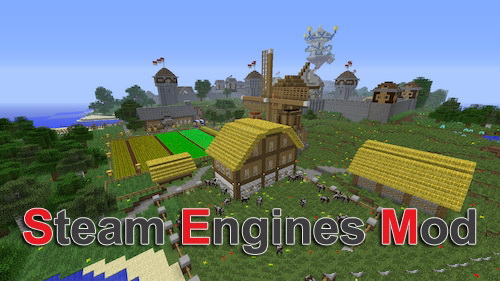Steam Engines [1.11.2] [1.8.9] [1.7.10]